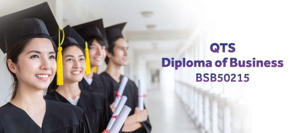 Chương trình Diploma chuyên ngành kinh doanh (Diploma of Business) chuẩn Úc tại QTS