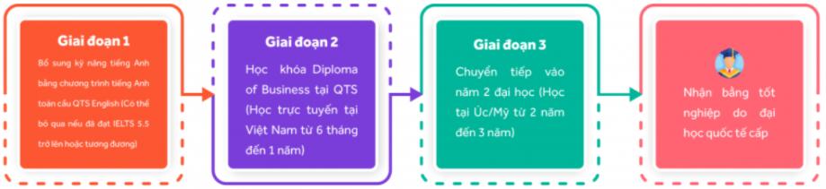 Lộ trình học QTS Diploma
