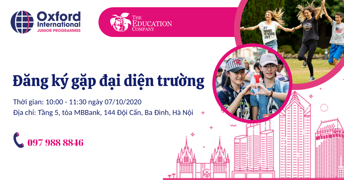 Gặp gỡ đại diện Oxford International Group