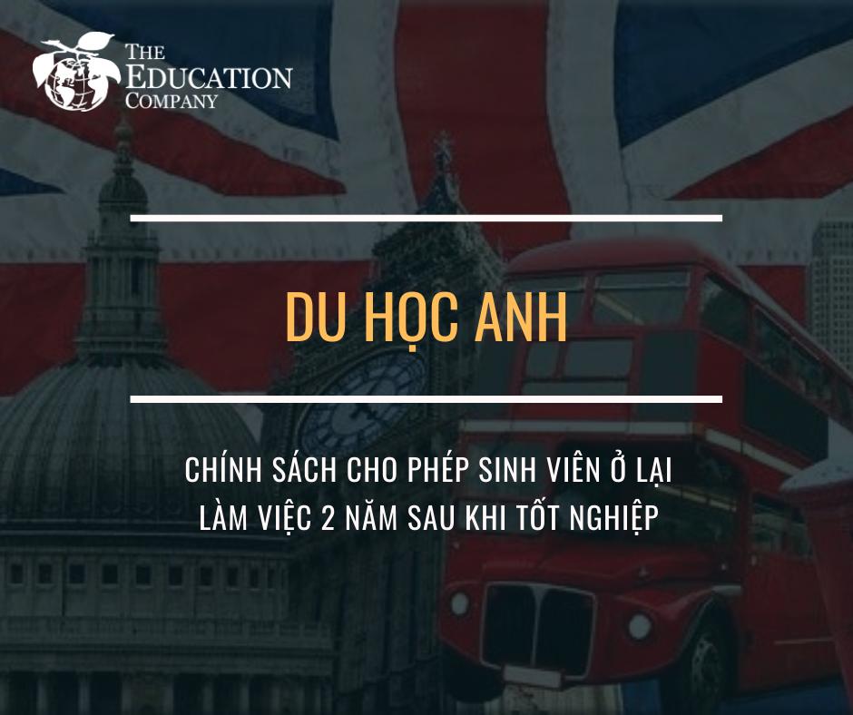 Du học Anh - Những chính sách vô cùng thuận lợi
