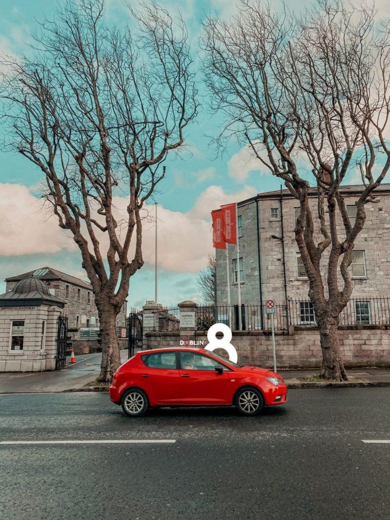 Tháng 02/2020 – Cổng trường Griffith College Dublin – Nơi mình hiện đang theo học.
